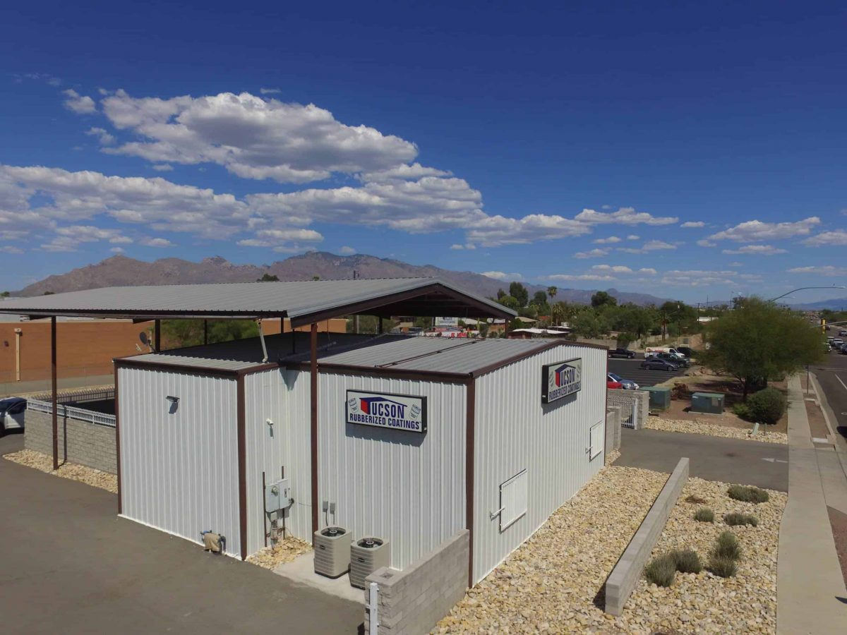 Tucson Rubberized Coatings Exterior Roof -- solutions